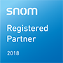 registered Snom partner